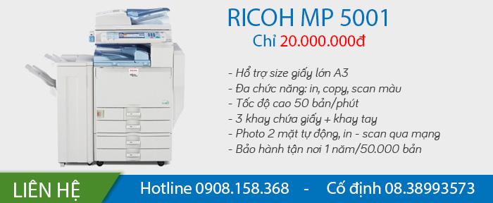 máy photocopy ricoh mp 5001