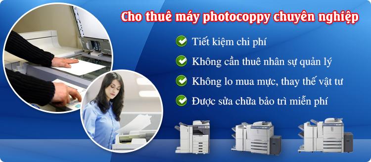 Cho thuê máy photo biên hòa