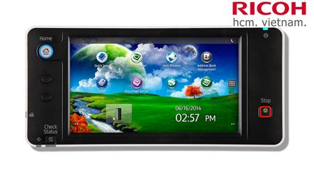 ricoh mp 5054 màn hình cảm ứng