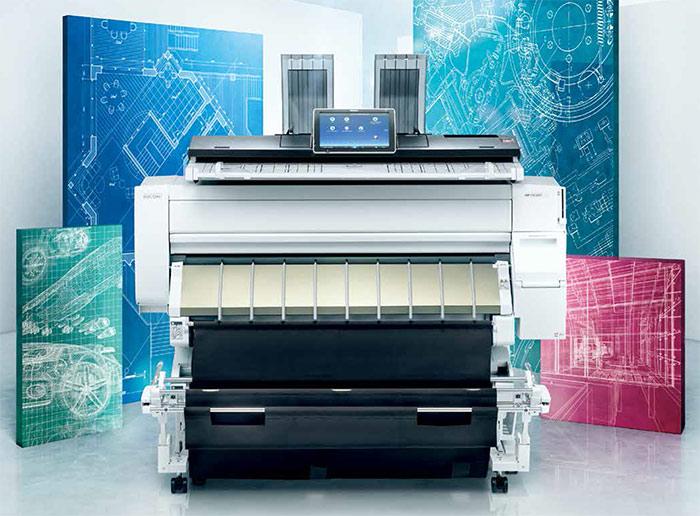 máy photocopy khổ rộng a0 RICOH MP CW2201SP đa chức năng